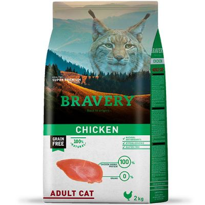 Bravery Chicken Adult Cat