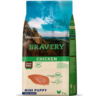 Bravery Chicken Mini Puppy