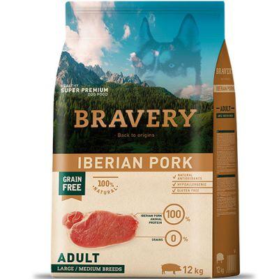 Bravery Iberian Pork Adult Large Medium
