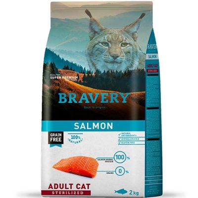 Bravery Salmon Adult Cat Sterilized