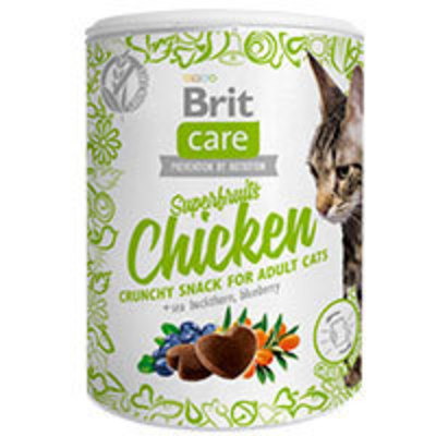Brit Care Cat Snack Superfruits Pollo