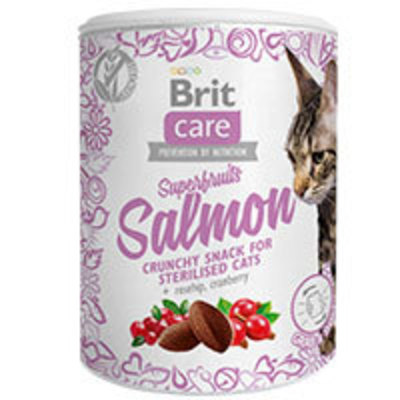Brit Care Cat Snack Superfruits Salmón