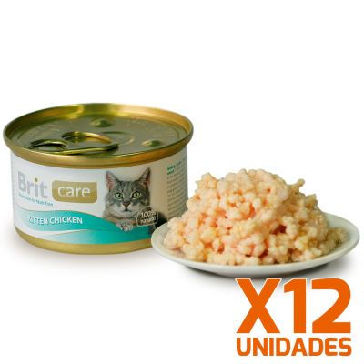 Brit Care Kitten Chicken Pack 12 Unidades