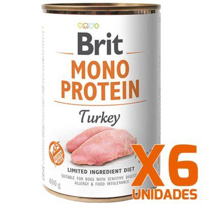 Brit Care Mono Protein Pavo Pack 6 Unidades