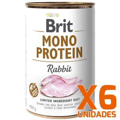 Brit Care Mono Protein Rabbit Pack 6 Unidades