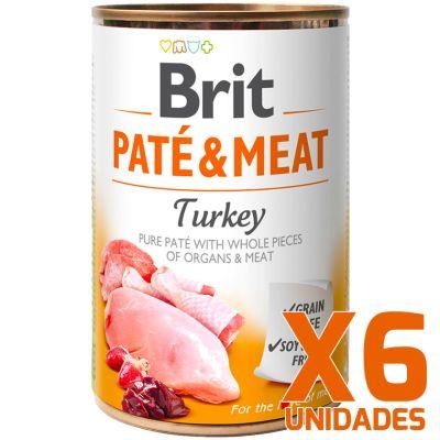 Brit Care Paté & Meat Turkey - Pack 6 Unidades