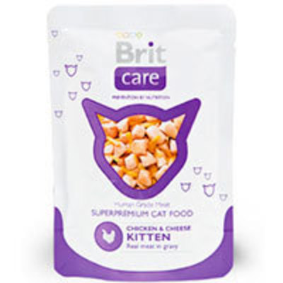 Brit Care Pouch Chicken & Cheese Kitten