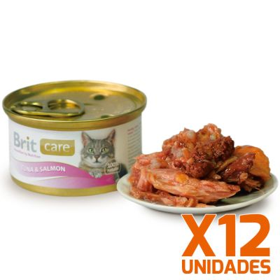 Brit Care Tuna & Salmon Pack 12 Unidades
