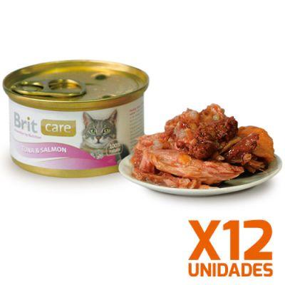 Brit Care Tuna & Salmon Pack 12 Unidades