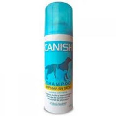 Canish Shampoo Espuma en Seco Perros y Gatos
