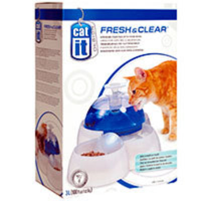 Cat it Fuente Bebedera Delux Fresh Clear