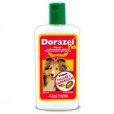 Dorazel Plus Shampoo Anti Pulgas y Garrapatas