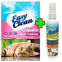 Easy Clean Pestell + Fresh Cleaner Urine Bio Destroyer 120ml