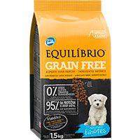 Equilibrio Grain Free Perros Cachorros Razas Pequeñas