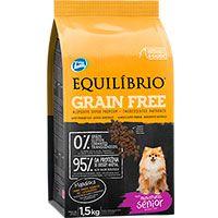 Equilibrio Grain Free Perros Senior Raza Pequeña