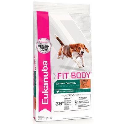 Eukanuba Fit Body Medium Weight Control 13.6kg