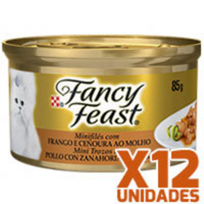 Fancy Feast - Pollo con Zanahoria x 12 unidades