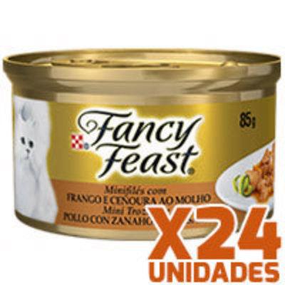 Fancy Feast - Pollo con Zanahoria x 24 unidades