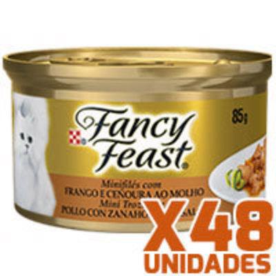 Fancy Feast - Pollo con Zanahoria x 48 unidades