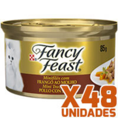 Fancy Feast - Pollo en Salsa x 48 unidades