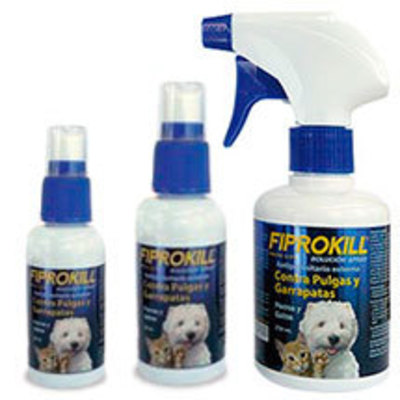 Fiprokill Spray Anti Pulgas y Garrapatas