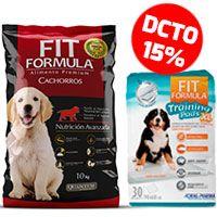 Fit Formula Cachorro + Paños de entrenamiento 30 un