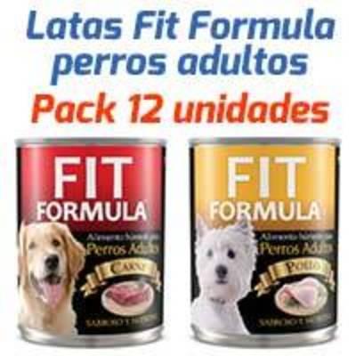 Fit Formula Latas - Surtido Para Perros Adultos - Pack 12 unidades