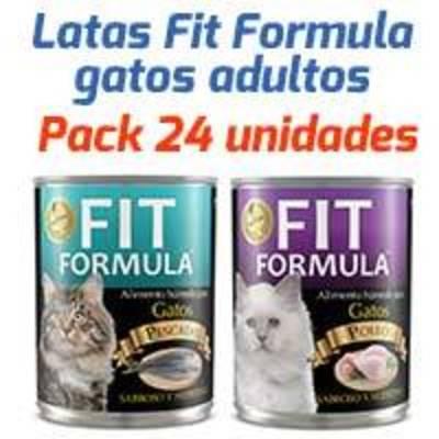 Fit Formula Latas - Surtido Para Gatos Adultos - Pack 24 unidades