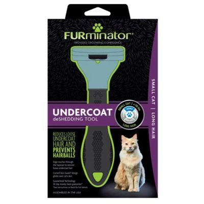 FURminator LONG HAIR deShedding Tools FOR CAT Small