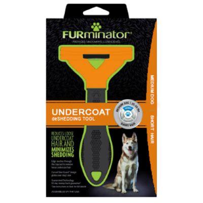 FURminator SHORT HAIR deShedding Tools FOR DOG Medium