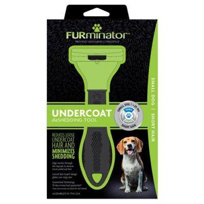 FURminator SHORT HAIR deShedding Tools FOR DOG Small