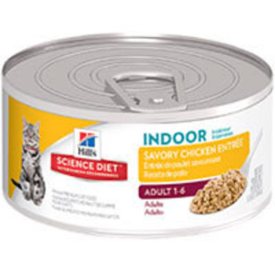 Hills Lata Cat Adult Indoor - Receta de Pollo