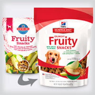 Hills Dog Fruity Snacks - Manzanas y Avena
