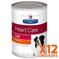 Hills H/D Canino Lata - Pack 12 unidades