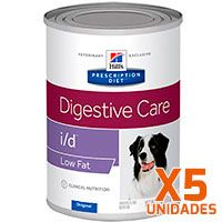 Hills i/D Low Fat Canino Lata - Pack 5 unidades