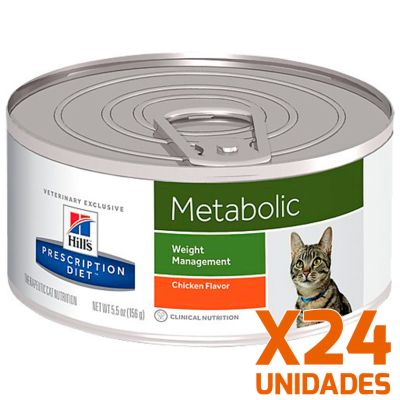 Hills Metabolic Felino Lata Pack 24 Unidades