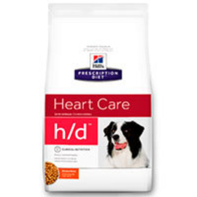 Hills Prescription Diet Canine h/d Cuidado Cardiaco