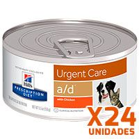 Hills Prescription Diet Latas Canine – Feline a/d Critical Care Pack 24 Unidades (BANDEJA)