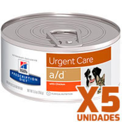 Hills Prescription Diet Latas Canine – Feline a/d Critical Care Pack 5 Unidades