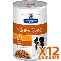 Hills Prescription Diet Latas Canine k/d Renal Pack 12 Unidades