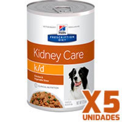 Hills Prescription Diet Latas Canine k/d Renal Pack 5 Unidades