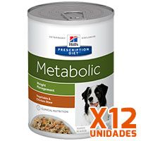 Hills Prescription Diet Latas Canine Metabolic Pack 12 Unidades