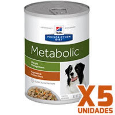 Hills Prescription Diet Latas Canine Metabolic Pack 5 Unidades