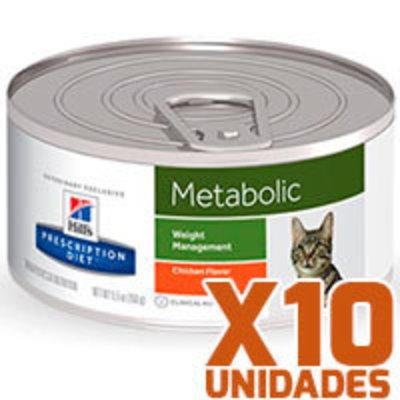 Hills Prescription Diet Latas Feline Metabolic Pack 10 Unidades
