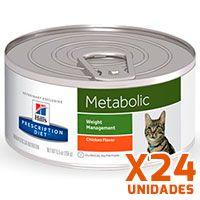 Hills Prescription Diet Latas Feline Metabolic Pack 24 Unidades