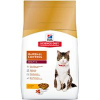 Hills Cat Adult Hairball Control