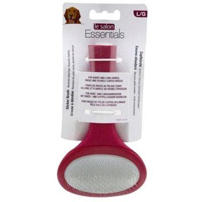 Le Salon Essentials - Cepillo para suavizar el pelo para perros Grandes
