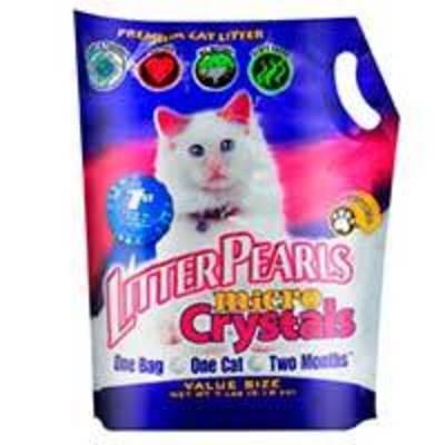 Litters Pearls Micro Crystals - Arena Sanitaria Cristal - 3.18kg