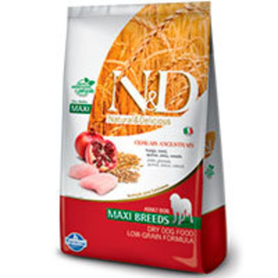 Natural and Delicious Ancestral Grain Canine Pollo y Granada Adult Maxi