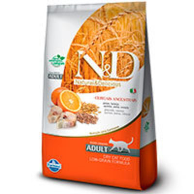 Natural and Delicious Ancestral Grain Feline Adulto Pescado y Naranja